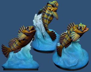 3D Printed Fish