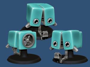 3D Printed Microbot